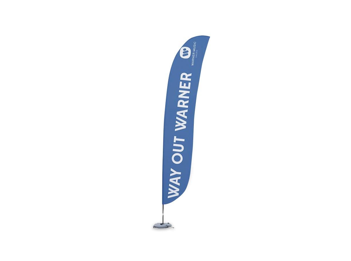 Beachflagga Standard