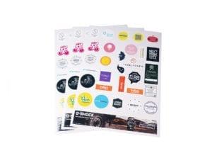 Figurskurna stickers