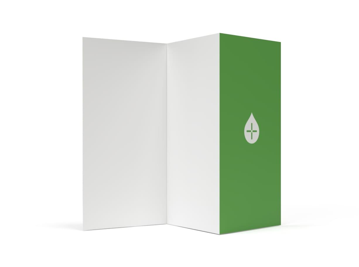 Folder 6 sidor Avlång - Digitaltryck