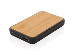 Powerbank 5000mAh Wood