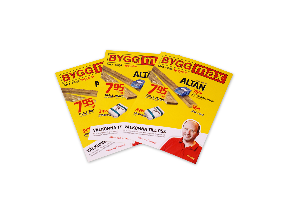 Flyer A-format - Offset