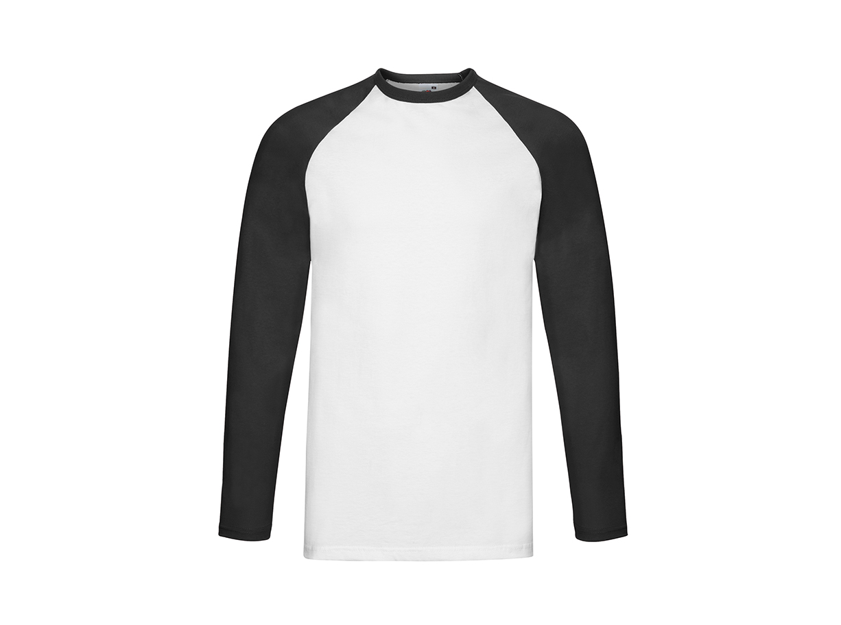 T-Shirt Baseboll - Unisex Långärmad