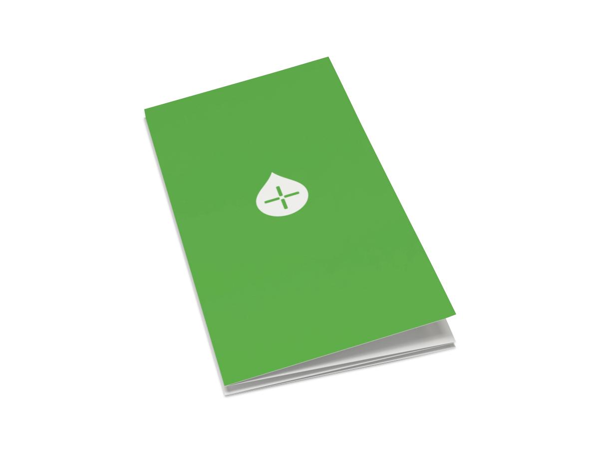 Folder 8 sidor Avlång - Offset