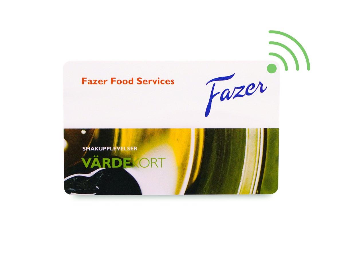 Plastkort med RFID