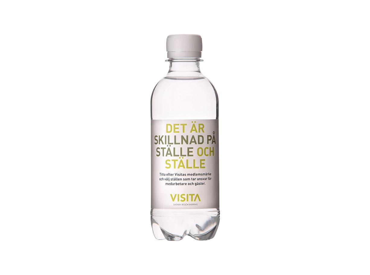 Vatten på flaska